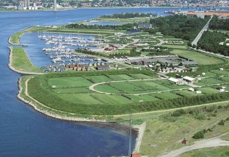 Aalborg - Marina Fjordparken © Kort & Matrikelstyrelsen