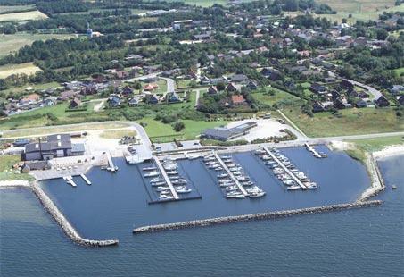 Hvalpsund Lystbaadehavn © Kort & Matrikelstyrelsen