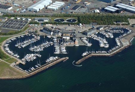 Marselisborg Lystbådehavn © Kort & Matrikelstyrelsen