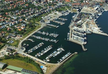 Nyborg Lystbaadehavn © Kort & Matrikelstyrelsen