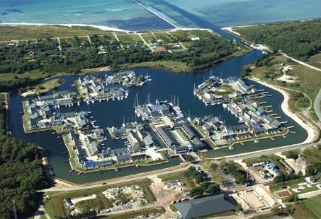 Øer Maritime Ferieby © Kort & Matrikelstyrelsen
